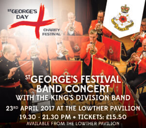 St Georges Day Charity Festival Band Concert
